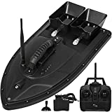 Happybuy Remote Control Fishing Bait Boat Fish Finder 1.5kg Feed Delivery Loading 500m Remote Control Fishing Bait Boat RC Boat 2.4GHz High Speed RC Fishing Boat Electric Racing Boat with Self-righ