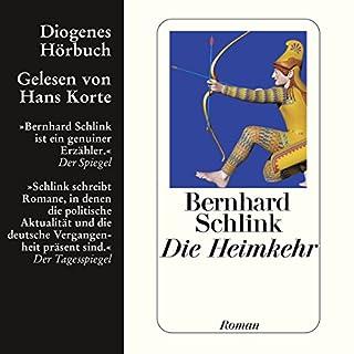 Die Heimkehr                   Autor:                                                                                                                                 Bernhard Schlink                               Sprecher:                                                                                                                                 Hans Korte                      Spieldauer: 9 Std. und 52 Min.     112 Bewertungen     Gesamt 4,0