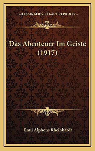 Das Abenteuer Im Geiste (1917)