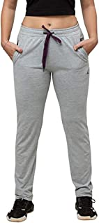 Lovable Women Girls Cotton Solid Track Pants in Grey Color- Walkin Track- LG-ML