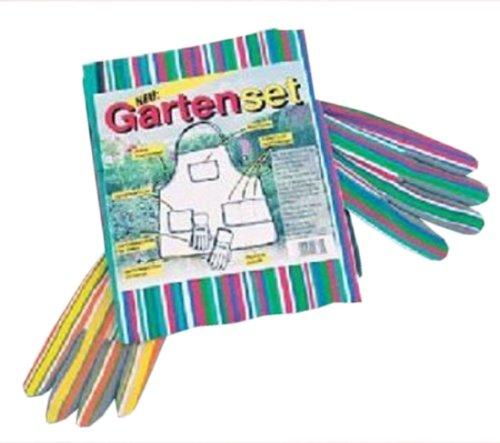 Garten-Set Gärtnerschürze und Handschuhe für Damen und Herren