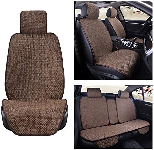 BOSAIYA 5 Seats Linen Car Seat Cover Front Sale Special Price Flax Rear 2021 new S Protector