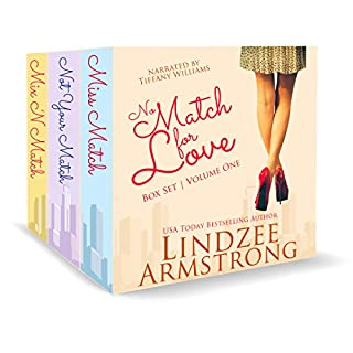 No Match for Love Volume One Box Set audiobook cover art