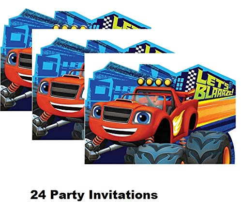 Belle Princess and the Beast Decoration Party Birthday Invitations Invite 24PC Hallm