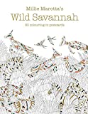 Millie Marotta's Wild Savannah Postcard Box: 50 beautiful cards for colouring in: 17