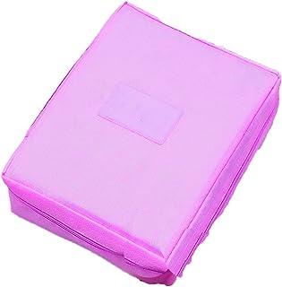 Ducomi® Travel Season Beauty Case – Bolsa de viaje – Organizador de viaje unisex – Tamaño: 22 x 17 x 8 cm, rosa brillante...