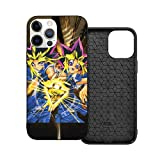 Protection Case Compatible with iPhone 12 Pro/iPhone 12 Case Yu_Gi_Oh Lightweight Phone Cases/Cover for Women Boys Ip12Pro Max-6.7