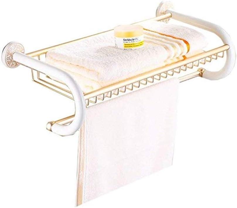 GYJWXM Towel Bars Rack Aluminum cheap Gold Hardwa Max 58% OFF Hotel Bathroom