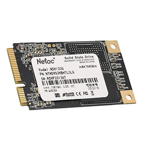 Tubayia Disco duro interno SSD de 2,5 pulgadas, 120 GB, MSATA, para ordenador portátil, tableta, escritorio
