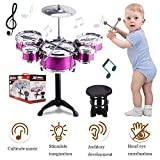 SKLOER Kids Drum Set-Educational Percussion Instrument Kids Toy Stimulating Children's...