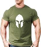 KODOO Uomo t-Shirt Stretto Livello Base Gym Manica Corta Tshirt Maglietta Fitness Bodybuilding Cotone Top