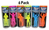 Toys+ Tangle Free Parachute Men 6 Piece Set Parachute (Colors and Styles May Vary)
