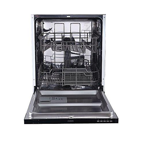 Vollintegrierbarer Einbaugeschirrspüler Spülmaschine Geschirrspüler Flavia BI 60 DELIA 1930 Watt 60 cm breit 12 Maßgedecke/geräuscharm/Startzeitvorwahl [Energieklasse A++]