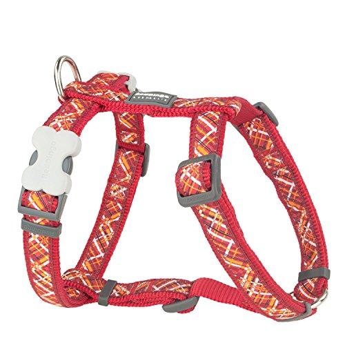 Red Dingo GmbH 9330725059801 Petral Perro Flanno, M, Rojo
