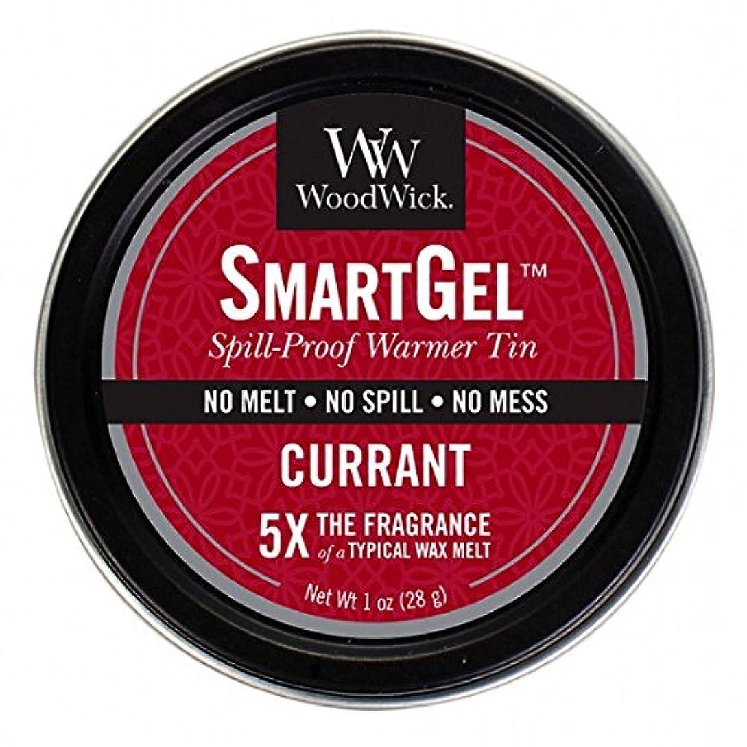 肝困った食い違いウッドウィック( WoodWick ) Wood Wickスマートジェル 「 カラント 」W9630520