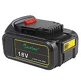 Waitley DCB184 18V 5.0Ah Batterie de remplacement pour DCB200 DCB183 DCB185 DCD785 DCD795 DCF885 DCF895 DCS380 DCS391 au lithium-ion MAX XR Batterie