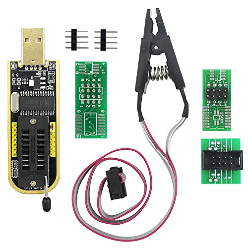 KeeYees SOIC8 SOP8 Test Clip für EEPROM 25CXX / 24CXX + CH341A 24 25 Serie EEPROM Flash BIOS USB Programmer