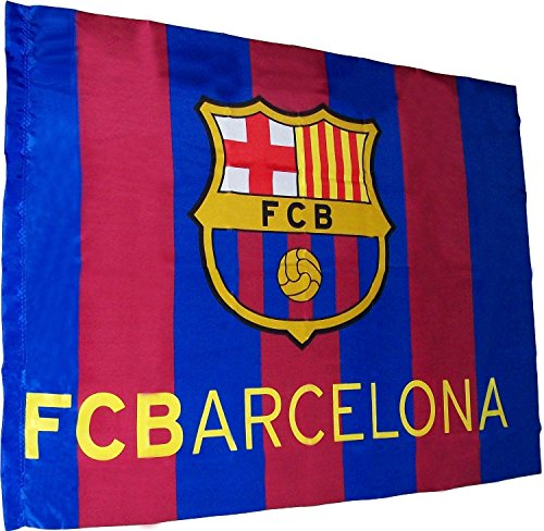 FCB FC Barcelona - Bandera f.c. Barcelona (100 x 75 cm.) (Banderas)