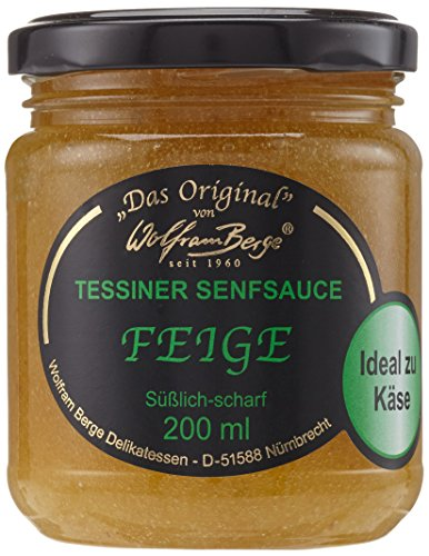 Original Tessiner Feigen-Senfsauce, 200ml