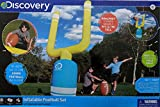 Discovery Inflatable Football Set with Inflatable 18 ' Football and Goalpost Standing 83 Inches (Nearly 7 Ft.)