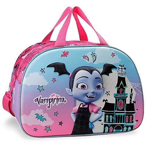 Disney Vampirina Borsa da viaggio Viola 40x28x22 cms Poliestere 24.64L