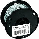 Fi-Shock 350-Feet, 17 Gauge Spool Galvanized Steel Wire, WC-350