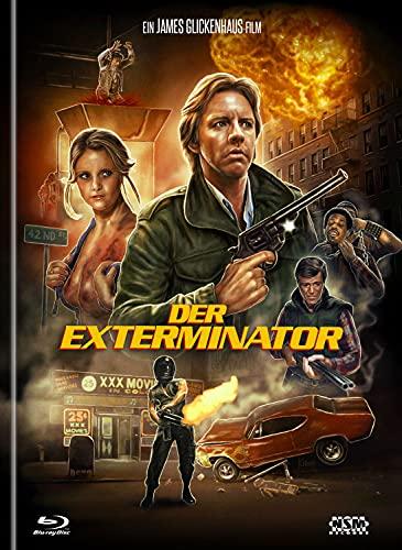 Exterminator 1 [Blu-Ray+DVD] - uncut - limitiertes Mediabook Cover B