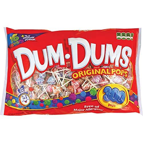 DUM DUMS Lollipops Variety Flavor Mix 300 Count Bag