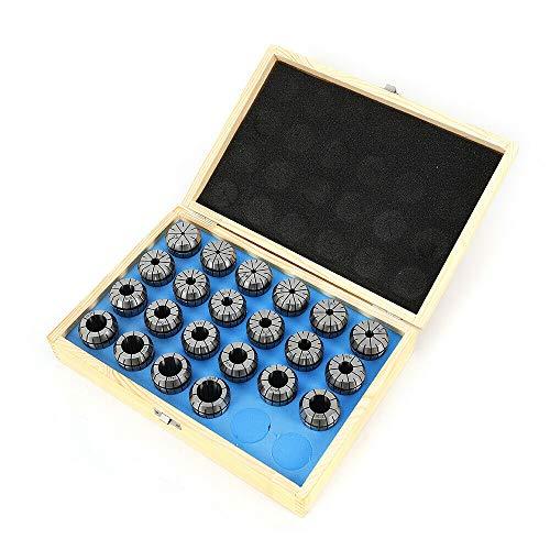 ER40 - Juego de alicates de precisión de 4 a 25 mm, mandril de apriete para CNC de posicionamiento, grabado y fresado