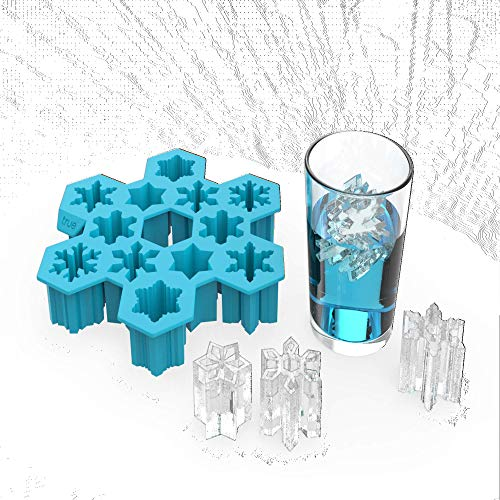 Snowflake Silicone Ice Cube Tray and Mold- Candy, Soap, Toy, DIY by...