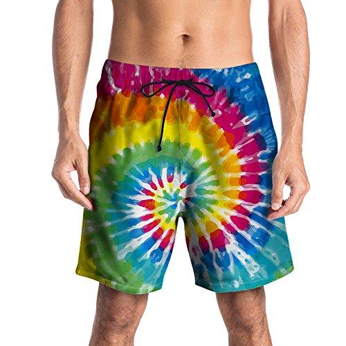 FRAUIT Heren mannen 3D Gedrukte korte broek zwembroek zwemshorts zomer vrije tijd shorts zwembroek zwemshorts Beachshorts joggingbroek strandshorts werk casual shorts