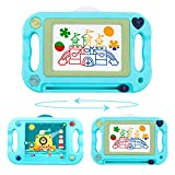 Charunee Magnetic Drawing Board,Magnetic Erasable Doodle Writing Pad,Double Sided Balance Ball Maze Game Sketch Doodle Board Painting Toys Birthday Gift Present for 3+ Years Kids Boys Girls