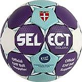 SELECT Solera Ballon de Handball 1 Blau/Weiß/Purple