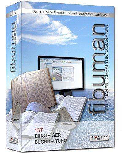 fibuman 1st - Jahresversion 2021 - Buchhaltungssoftware - Buchführung leichtgemacht! - Einsteiger-Buchhaltungsprogramm mit Einnahmen-Überschuss-Rechnung - Ohne große Vorkenntnisse Buchungen schnell und unkompliziert eingeben und auswerten - Neueste Version für Windows