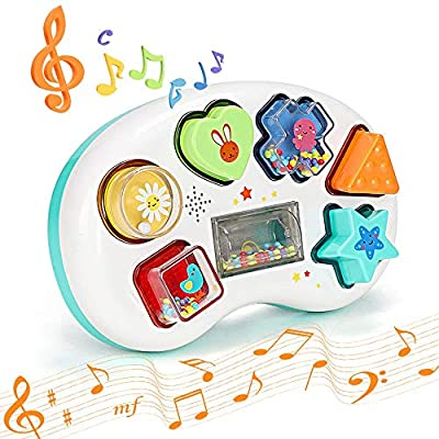 Amazon - Save 50%: BAODANstore Baby Musical Toys,Toddler Learning Music Shape Toy, Develop…