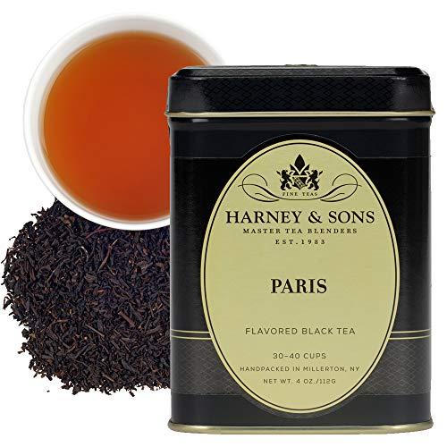 Harney & Sons Flavored Black Tea, Paris, 4 Ounce