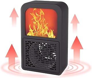 BOJK Portátil Calefactor Eléctrico Ventilador Calentador Silencioso Ahorro De Energía Portátil 400W para Oficina En Casa