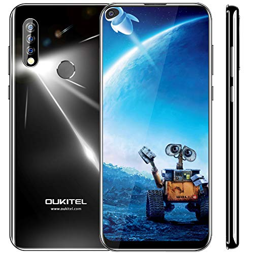 Smartphone ohne Vertrag, OUKITEL C17 Pro Android 9.0 4G Dual SIM Handy, 64GB Speicher Smartphones 6.35 Zoll, Triple Kamera Smartphone, 3900mAh Akku Günstig Handy,Face/Fingerabdrucksensor