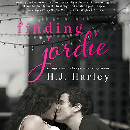 Finding Jordie audiobook cover art