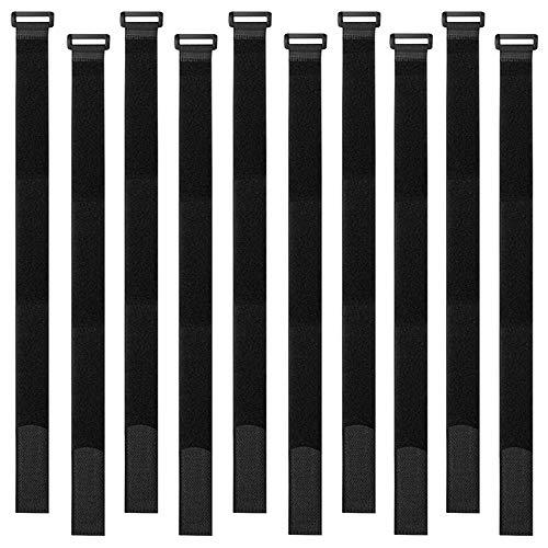 Aiqeer 30 Piezas 40 X 2 cm Reutilizables Cable Ties, Bridas de...