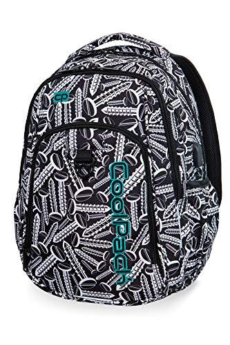 COOLPACK Schulrucksack Kinder-Rucksack Schultasche Strike 27 Liter USB-Port Kabel 44 x 32 x 15 cm Schrauben Motiv Mädchen Jungen