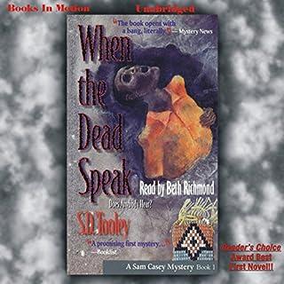 When the Dead Speak audiobook cover art