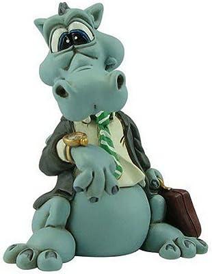 Hi-Line Gift Ltd Warren Stratford Dragon Businessman Figurine