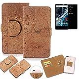 K-S-Trade® Handy Schutz Hülle Für Archos Sense 55 S Korkhülle 1x