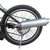 FADDR - Sistema de Sonido de Escape para Bicicleta, Tubo de Escape Turbo para Bicicleta con Efecto de Ruido, para Motocicletas, 35 x 7,5 cm, Wie Das Bild, Tamaño Libre