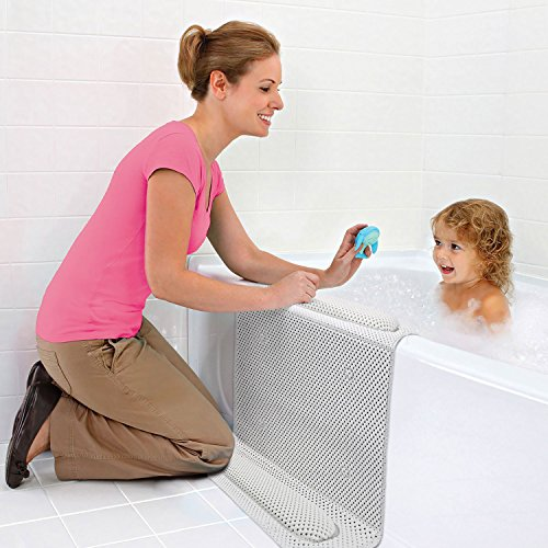 Bañera antideslizante Mat Almohadilla de rodillas rodilleras y coderas almohadilla de cojín bebé baño con codo cojín