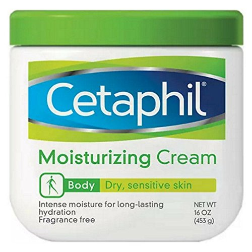 Cetaphil Moisturizing Cream, Fragrance Free 16 oz (453 g)