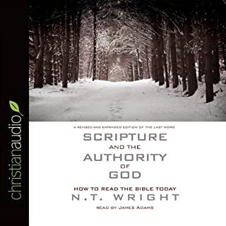 Scripture and the Authority of God audiobook cover art