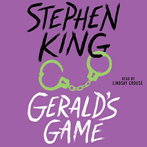 Gerald's Game audiobook cover art