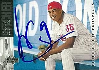 Autograph Warehouse 45498 Wayne Gomes Autographed Baseball Card Philadelphia Phillies 1993 Upper Deck No .63